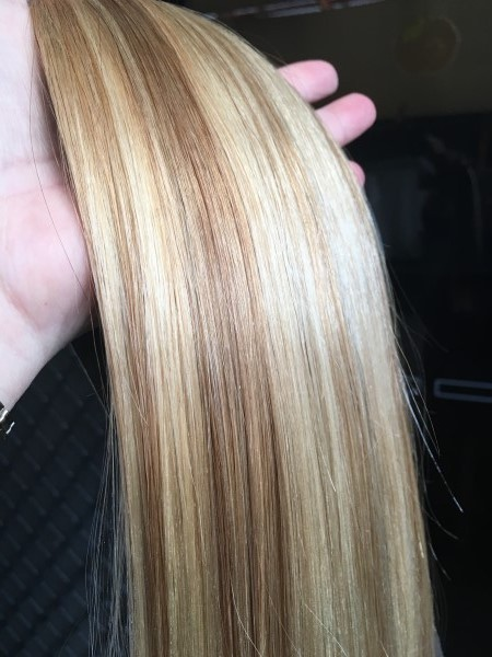 dark blondebeach blonde highlights 20 inch ultimate