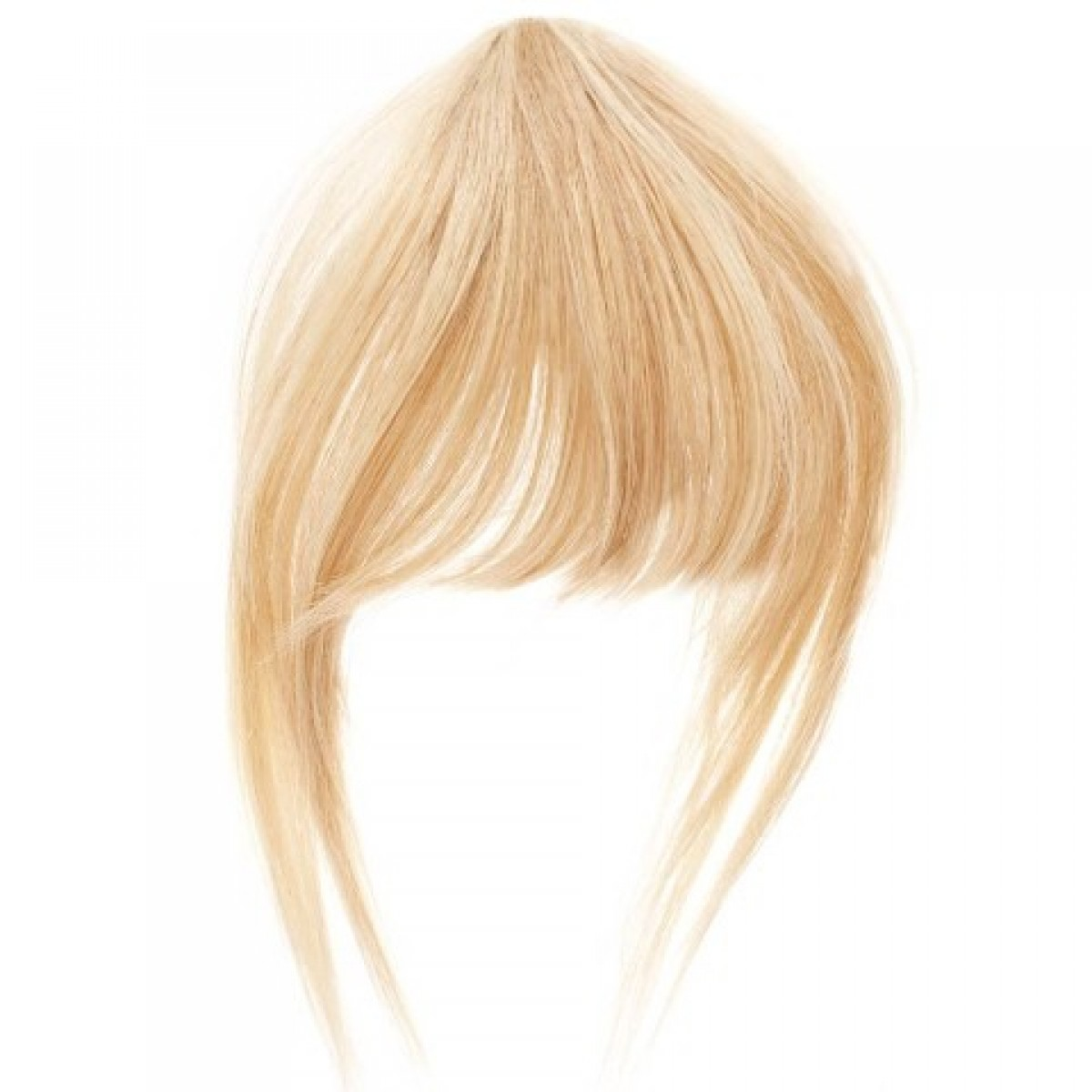 Clip In Clip On Fringe In Side Swept And Blunt Cut Style