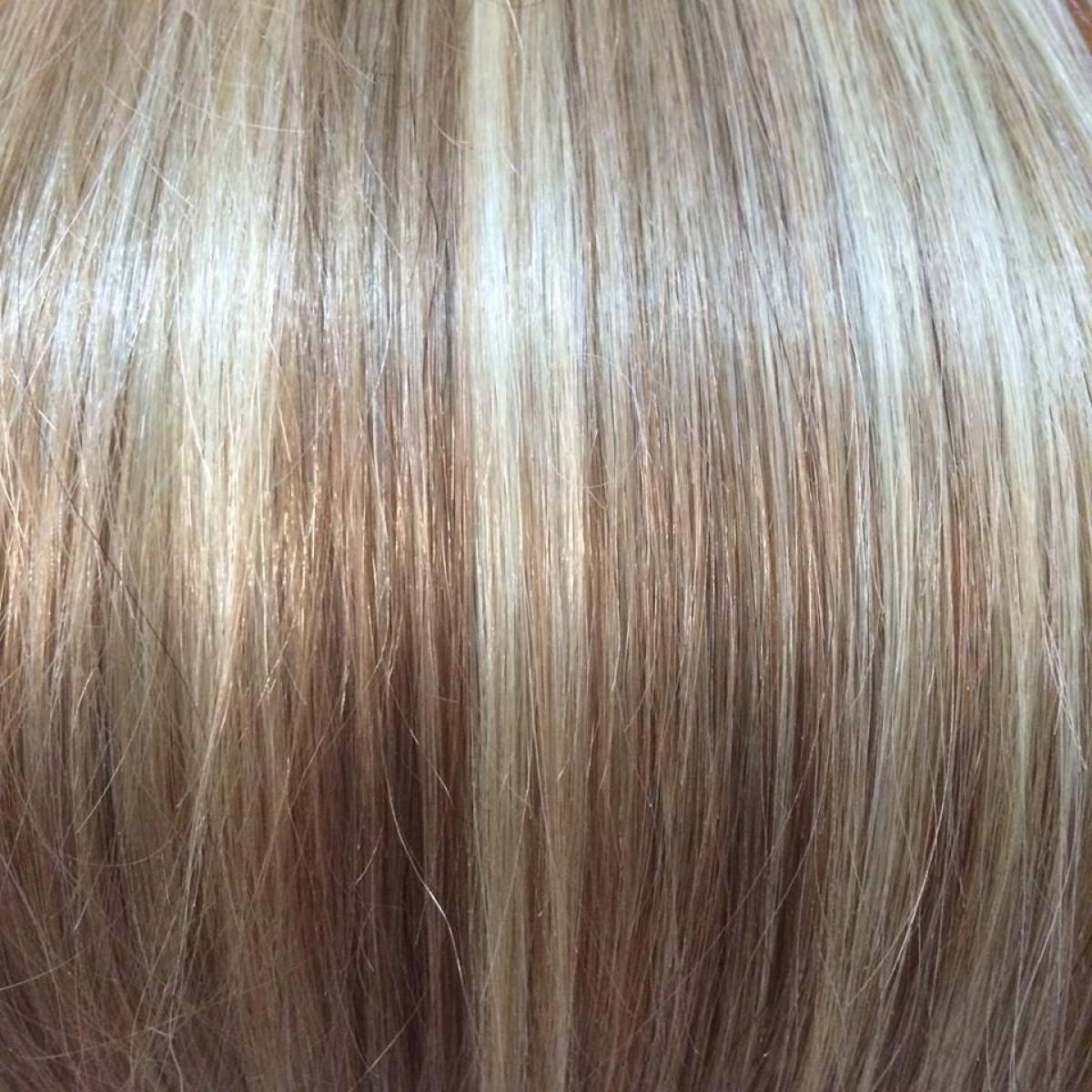 Dark blondebeach blonde highlights 20 inch ultimate thick clip previous next pmusecretfo Choice Image