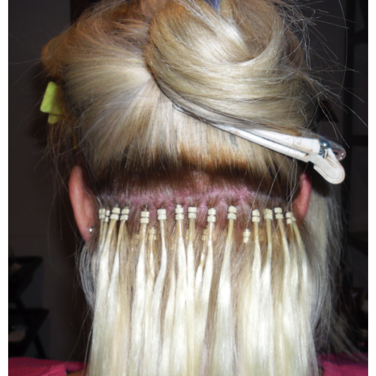 20 inch easy loop micro bead hair extensions double bead 08g previous next pmusecretfo Gallery