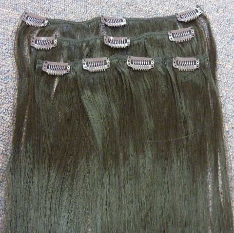 Synthetic Clip In Hair Extensions 6 Piece Set Cleopatra