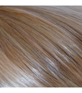 "20"" Clip In Set 110 grams Dark Blonde/Beach Blonde Highlights #18/613"