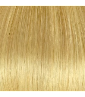 "18"" Clip In Human Hair Extensions Light Blonde #24 140grams"