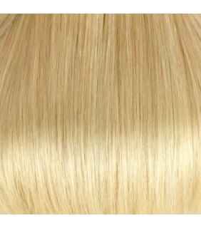 "18"" Clip In Human Hair Extensions Platinum Blonde #60 140grams"