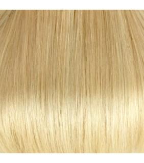 "20"" Clip In Human Hair Extensions Platinum Blonde #60"