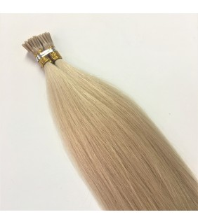 "18"" I-Tip Hair Extensions 0.8g Virgin Remy Cuticle Hair"