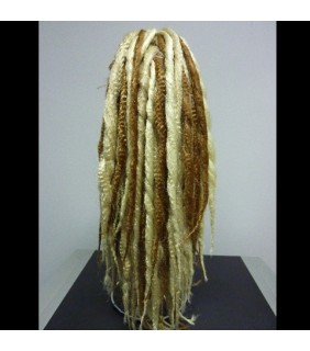 Clip In Ponytail Dreadlock #613/613A/25
