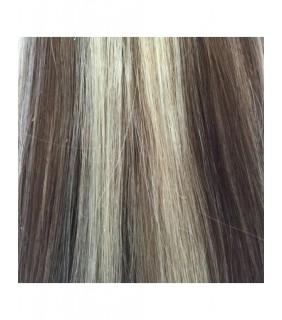 "24"" Ultimate Clip In Set 230 grams Medium Brown/Platinum Blonde #6/60"