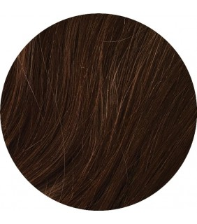 "Medium Brown #6 Clip In 22"" Human Hair Ponytail Extension"