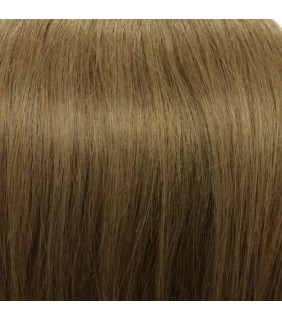 "20"" Clip In Human Hair Extensions Dark Ash Blonde #18"
