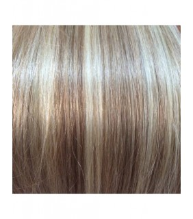 "16"" Ultimate Clip In Hair Extensions 200g Dark Blonde/Beach Blonde Highlights #18/613"