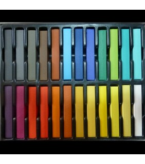Large 24 piece set of Hair Chalk