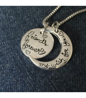 Friends Forever My Wish For You Necklace