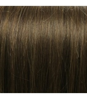 "18"" Clip In Human Hair Extensions Medium Brown #6 140grams"