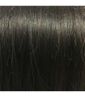 "20"" Clip In Human Hair Extensions Off Black #1B 140grams"