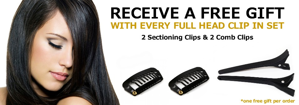 Free Gift with Clip In Set Purchase
